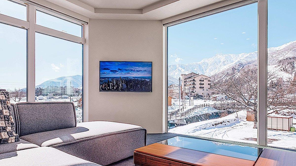 Bluebird Apartments Living Room