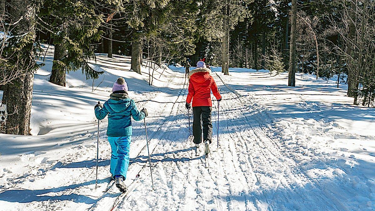 Cross Country Skiing in Hakuba
