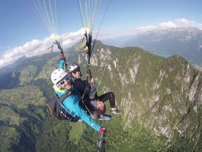 Paragliding in Hakuba